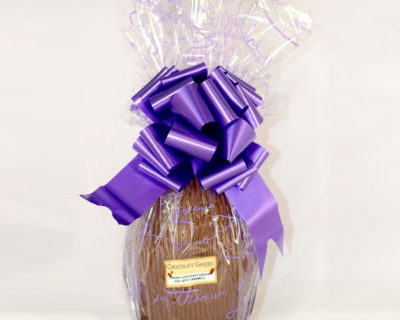 400g Easter Egg with Chocolate Caramels