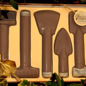Chocolate Garden Tool Set