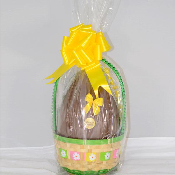 Easter basket large the chocolate garden of ireland easter basket large negle Images