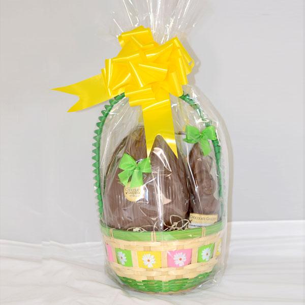 Easter basket medium the chocolate garden of ireland easter basket medium 1332797954 negle Images