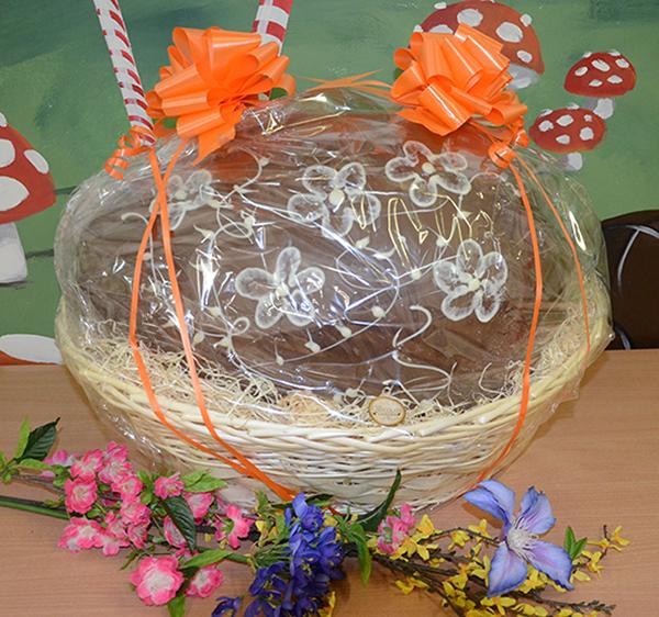 Giant Easter Egg Basket