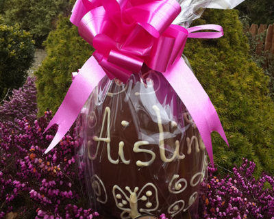 Personalised Easter Egg (up to 10 letters)
