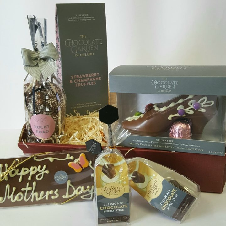 Mothers day gift basket the chocolate garden of ireland mothers day gift basket negle Choice Image