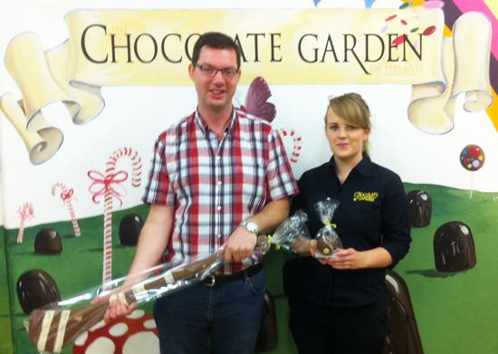 Winner – Champion of the Chocolate Hurl!