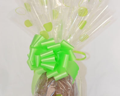 Easter Egg with Chocolate Caramels