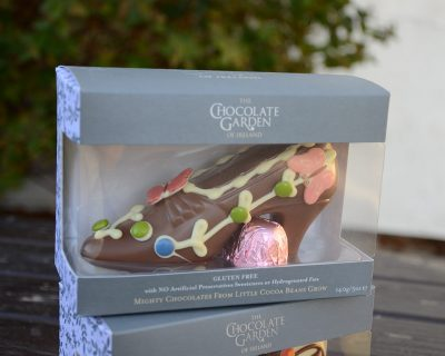 Chocolate Shoe Various Styles with two caramels