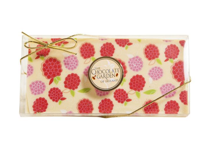 Decorated Milk Chocolate Bars - Berries