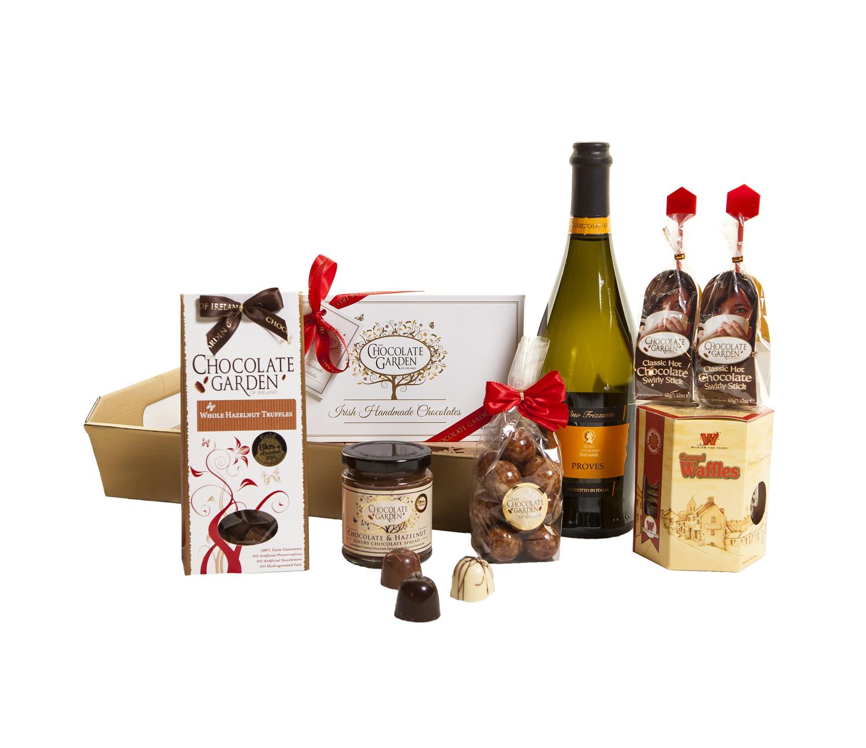 Chocolate Sparkle Hamper Gift Basket