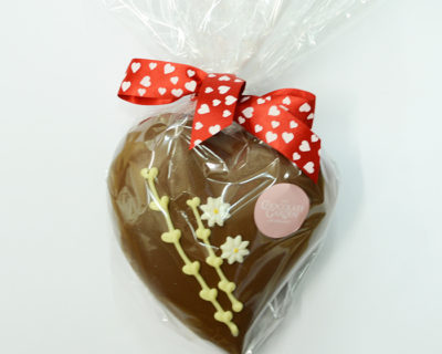 Chocolate Heart Hollow in plume