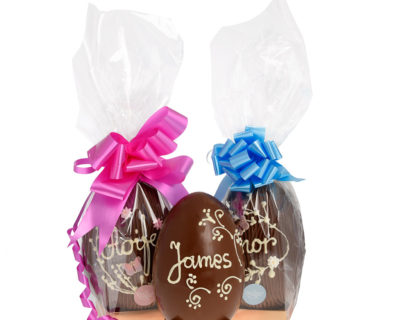 400G Personalised Easter Egg – Available in Milk / Dark / White