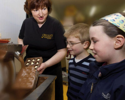 Chocolate Mould-making