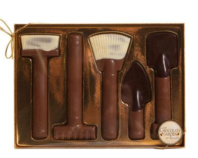 Chocolate Gardening Tools