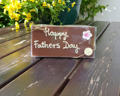 "Milk Chocolate ""Happy Father's Day"" 100g Bar"