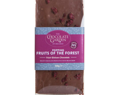 Popping Fruits of the Forest Gourmet Bar 100g