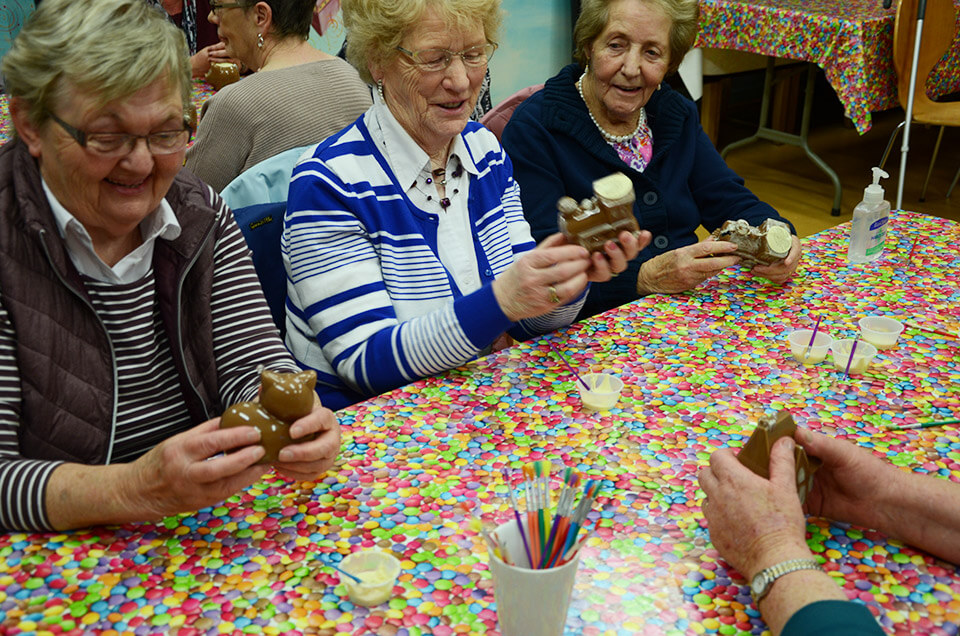 Chocolate Workshop Golden Years Group
