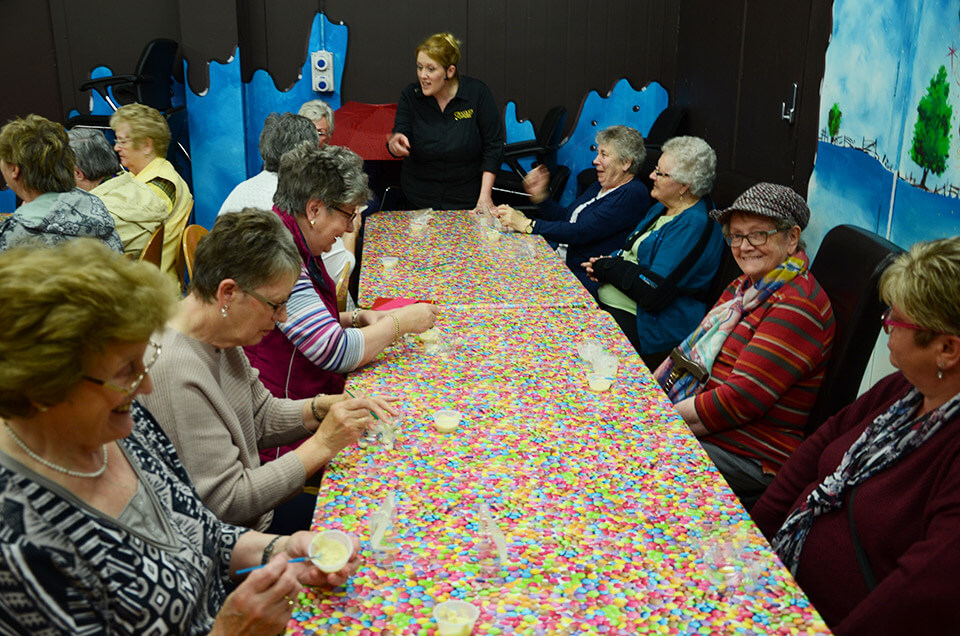 Group Chocolate Workshop Active Seniors