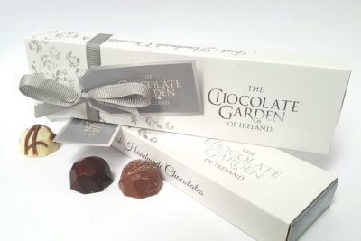Artisan selection of 6 beautiful handmade chocolates
