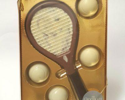 Chocolate Tennis Set