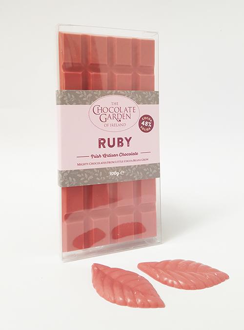 Ruby Chocolate Bar 100g