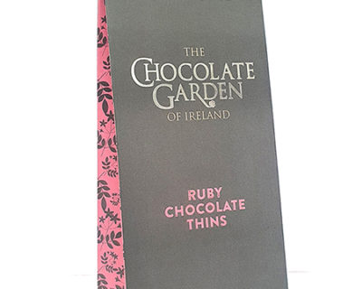 Ruby Chocolate Leaves in a Pouch 100g