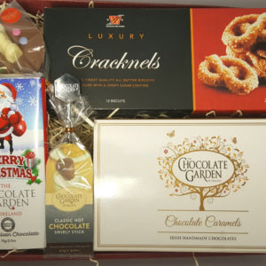 Gift Basket - Great Value Gift of Chocolates, Biscuits and Treats in Gift Tray