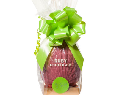 300g Ruby Chocolate Easter Egg