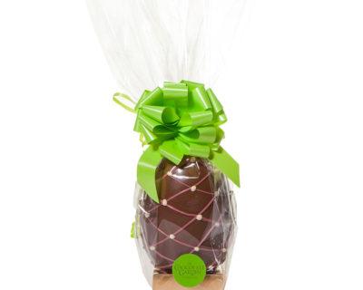 300g Easter Egg – Milk & Ruby Chocolate Trellis
