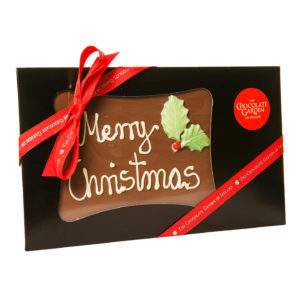 Christmas Milk Chocolate Bar