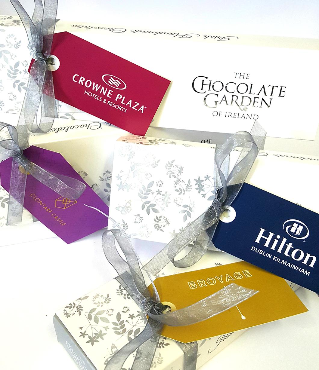 hotel 65g sel custom branded swing tags