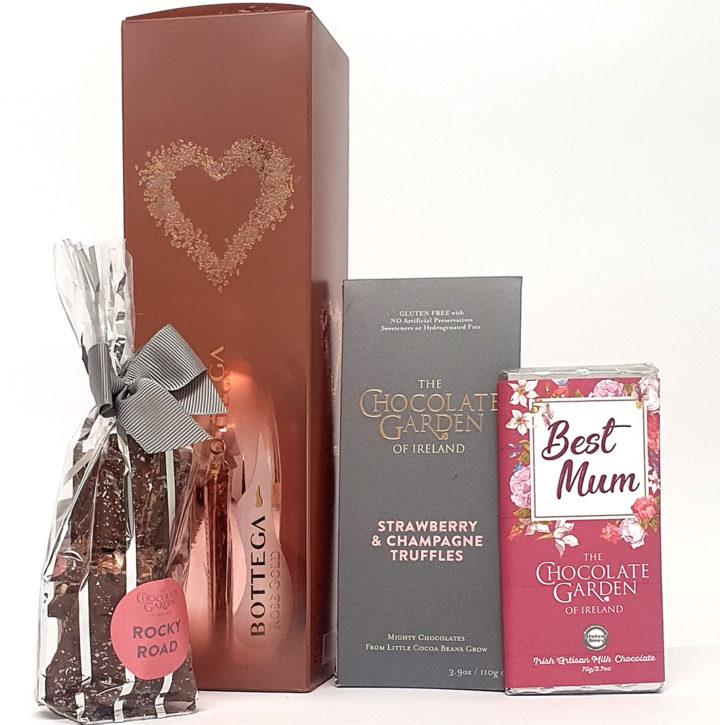 Best Mum & Rose Prosecco I The Chocolate Garden of Ireland
